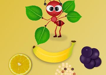 Receita Energética: Suco de Laranja com Açaí, Banana e Quinoa