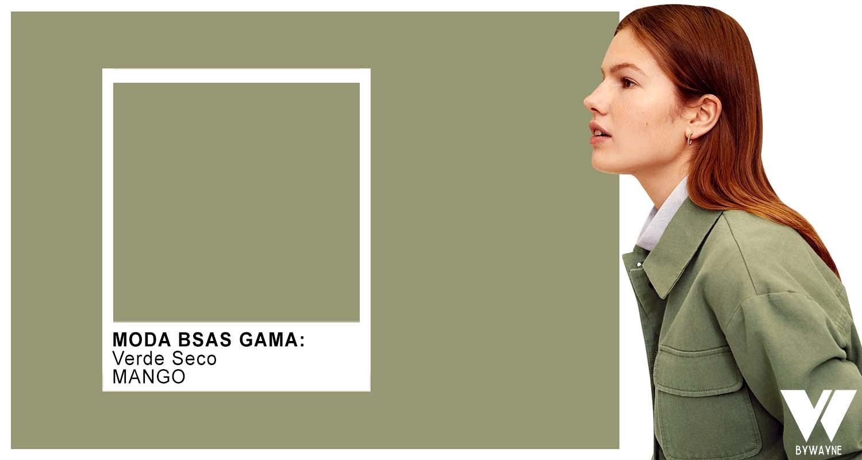 Verde seco colores de moda otoño invierno 2021