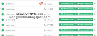 Cara membeli jasa/layanan hosting domain di domainesia bit.ly/1001domain sangatlah mudah, karena situs sangat canggih, simpel dan menggunakan bahasa Indonesia.  Kenapa domainesia? Lihat alasannya di halaman cara daftar      Langsung saja kita mulai langkah-langkah mudahnya :