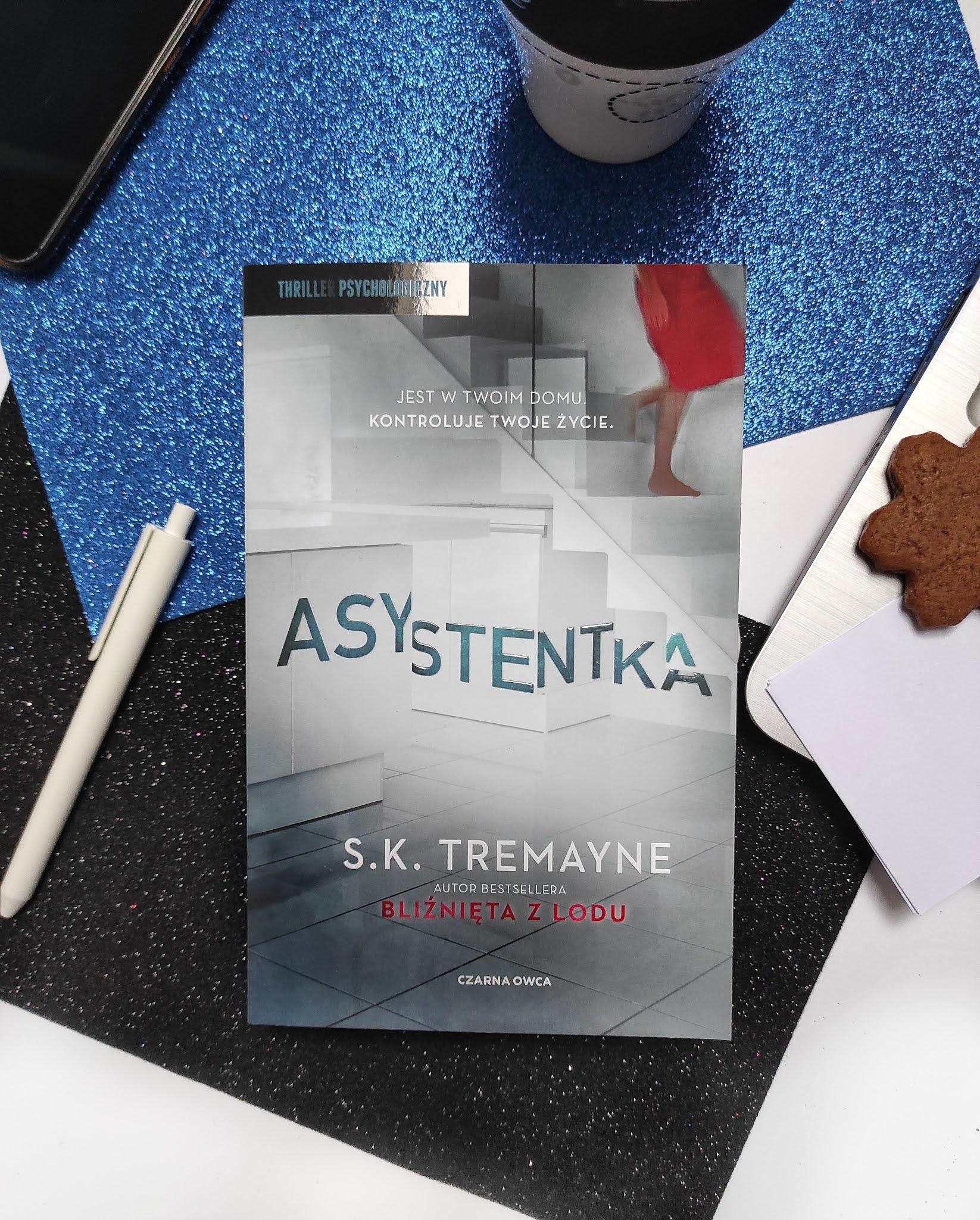 """""""Asystentka"""" S.K. Tremayne"""