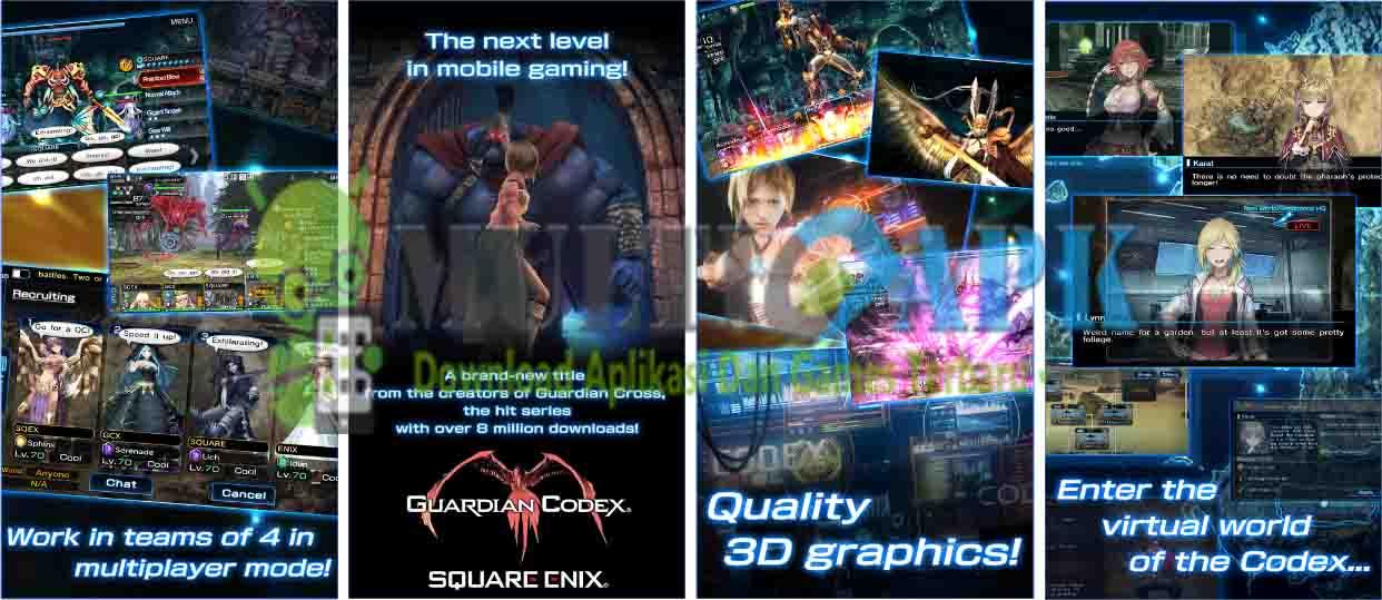 Guardian Codex Mod v1.2.1 Apk (Mod High Damage)