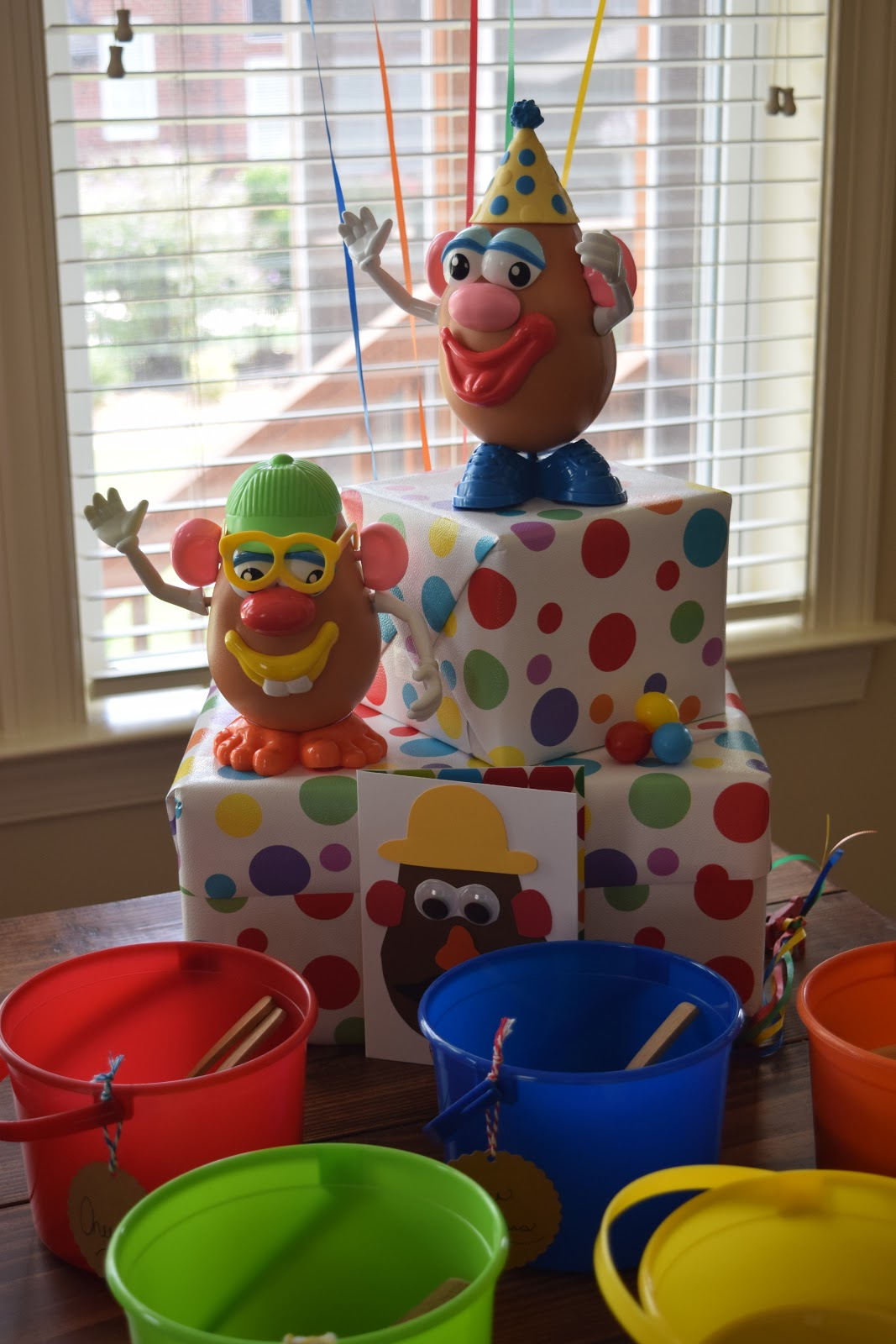 All Kinds Of Things Mr Potato Head Birthday Party