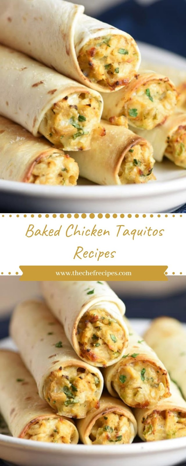 Baked Chicken Taquitos Recipes