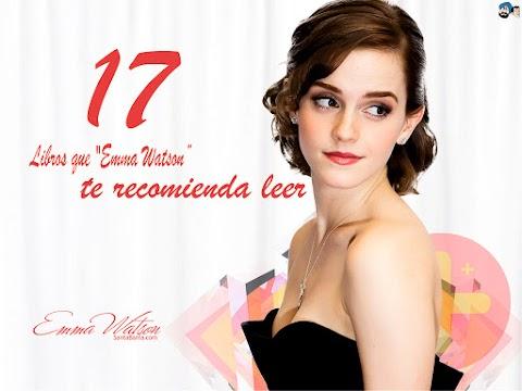 """17 libros que """"Emma Watson"""" te recomienda leer..."""