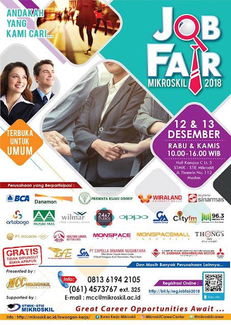 Job Fair Medan Gratis