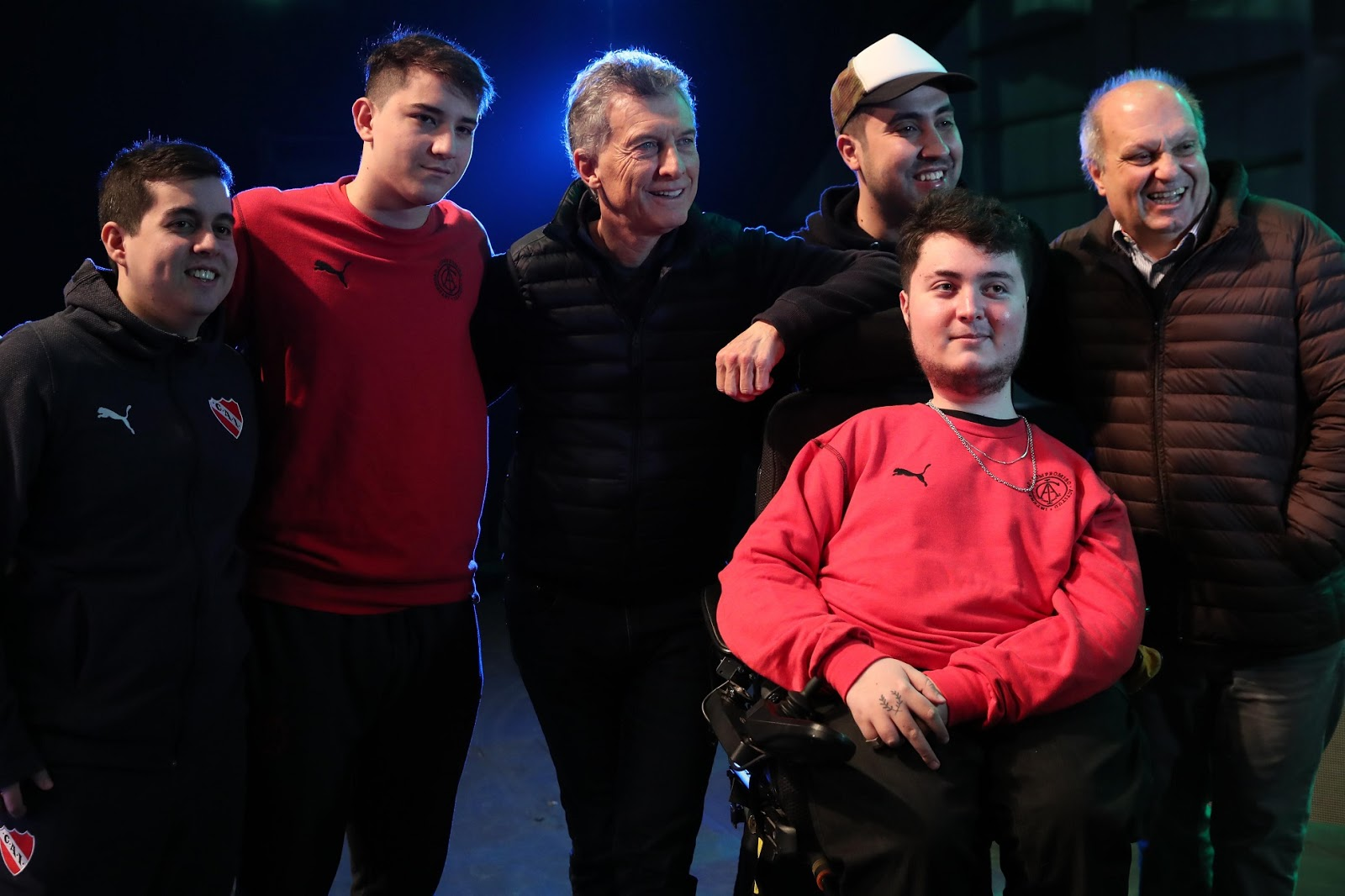 Macri y Lombardi se reunieron con los gamers más destacados de la Argentina
