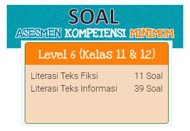 Contoh Soal Akm Online Kelas 11 Dan Kelas 12 Sma Level 6 Kherysuryawan Id