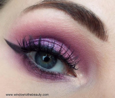 pink purple makeup