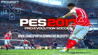 Download Updated Konami Pes 2017 ISO HD APK With PPSSPP Emulator For All Smartphone