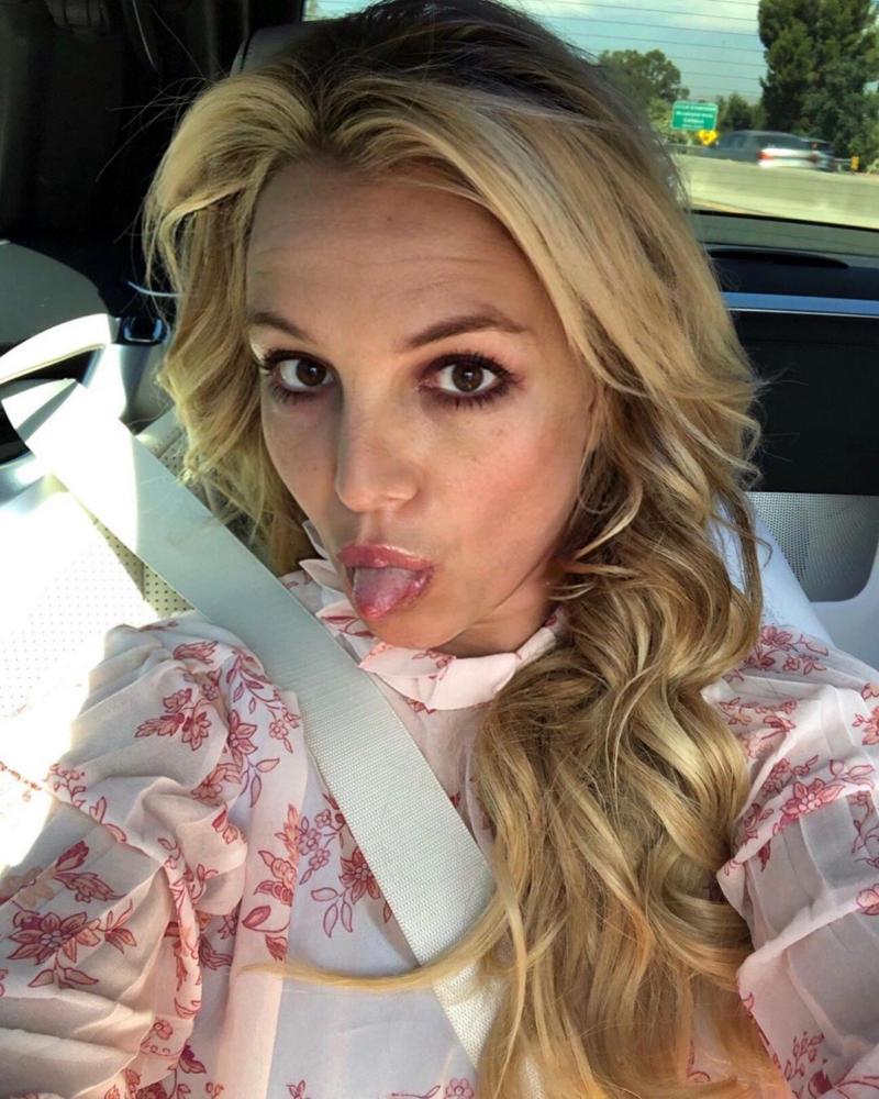 Britney Spears latest image social media
