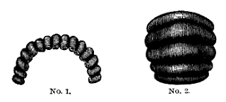 "Front and back puffs from Mark Campbell's ""Self-Instructor in the Art of Hairwork"", 1867"
