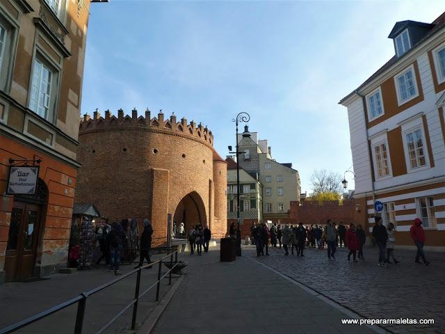 la ciudad nueva de Varsovia