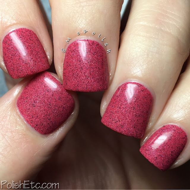 Random Nails of the Day - McPolish - Yummy Cherry by Misslyn