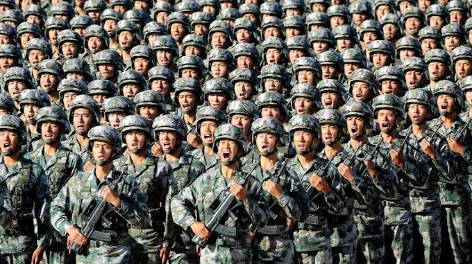 China's success in military and economy