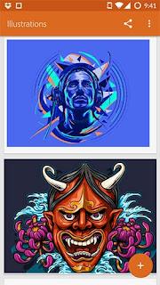 Adobe Illustrator Draw dan Photoshop Sketch adalah dua aplikasi gambar dari Adobe