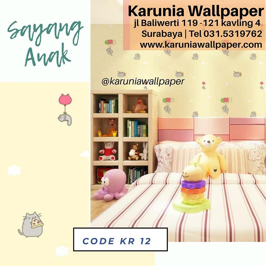 wallpaper dinding kamar anak kucing