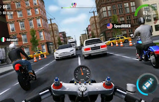تحميل لعبة Moto Traffic Race 2 مهكرة