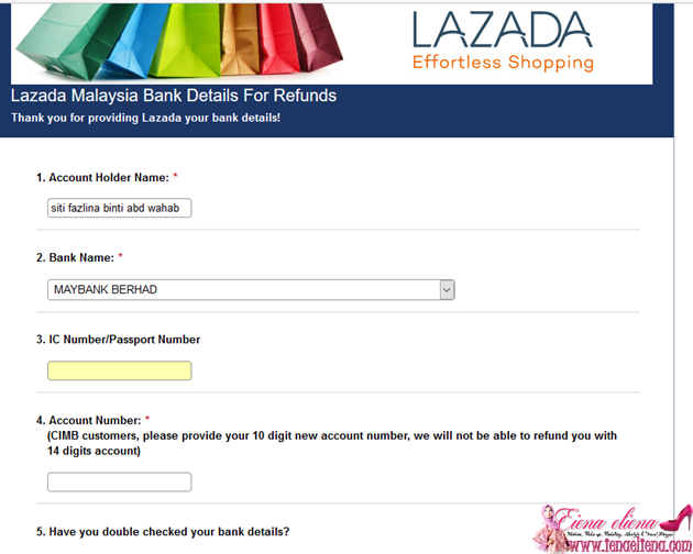 Lazada Declined Order Status