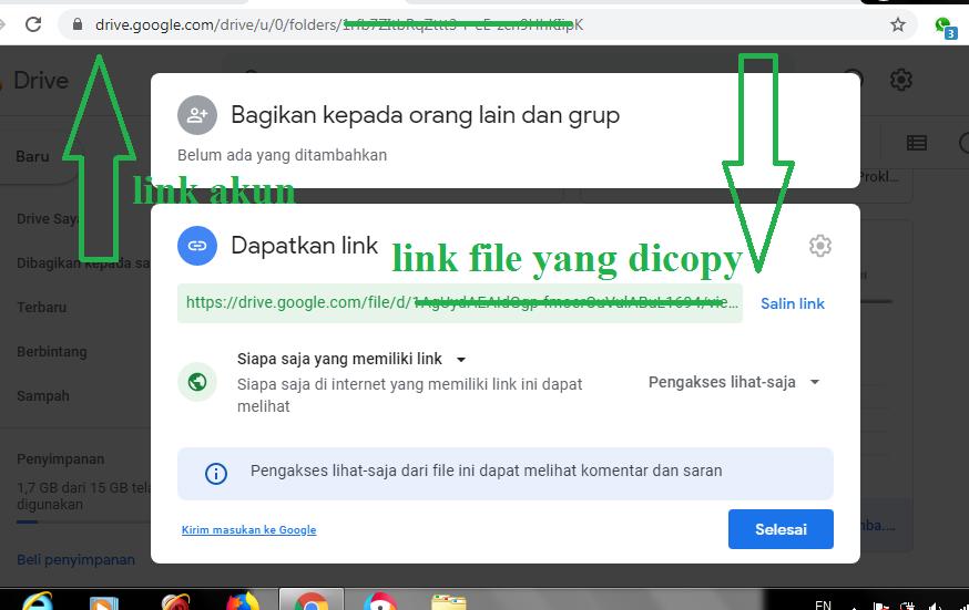Link-Akun-Google-Drive-dan-Link-File-Google-Drive
