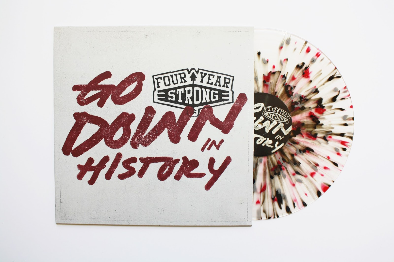 Four Year Strong Go Down in History vinyl