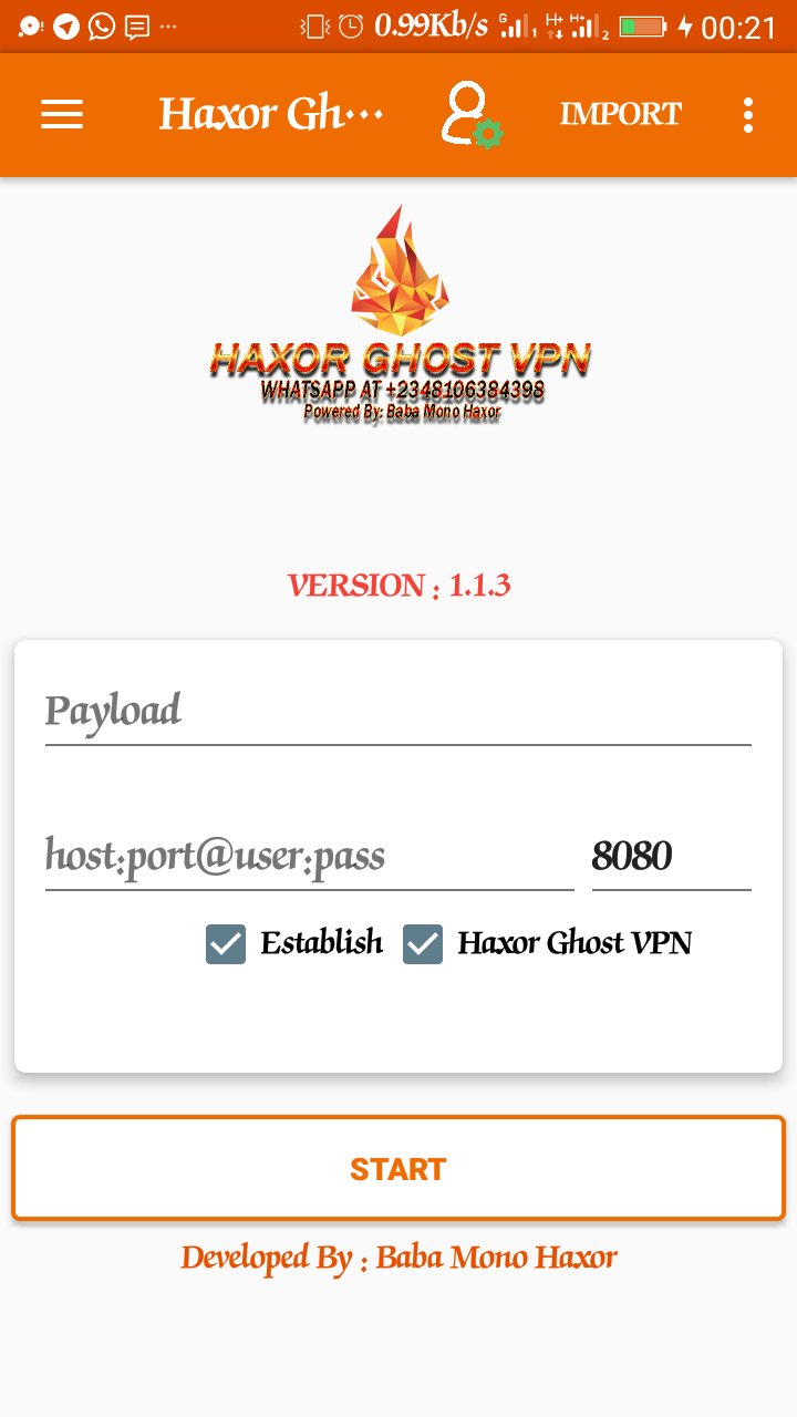 Unlimited For MTN Nigeria Use Only By Using Haxor Ghost Vpn