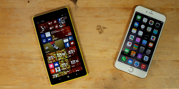 Apple iPhone 6 Plus vs. Nokia Lumia 1520 - Video Comparison