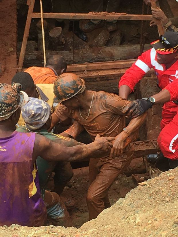 The 15 miners trapped in a Nyarugusu mine have all been rescued