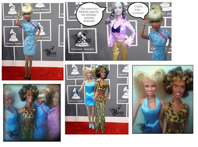 Lalkowe Grammy i Fabryka czekolady. / Doll Grammy photo session
