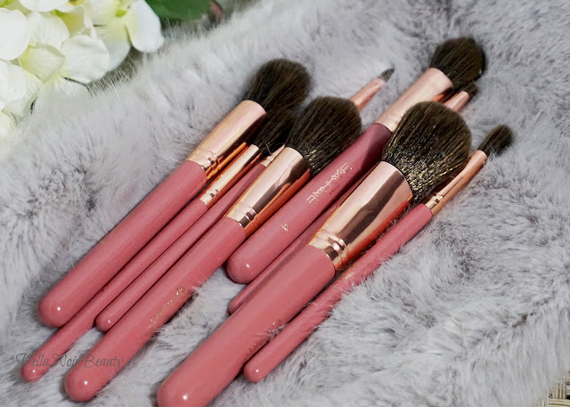 BH Cosmetics x It's My Raye Raye Makeup Brushes | bellanoirbeauty.com