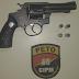 Menor é apreendido com arma de fogo após praticar assalto e apanhar de populares