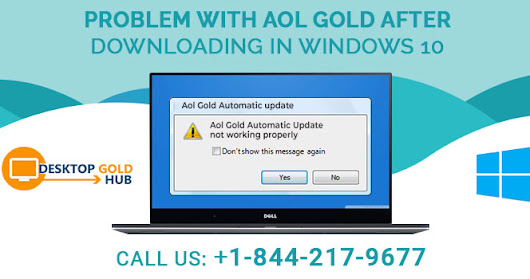 AOL Gold Not Working After Downloading in Windows 10