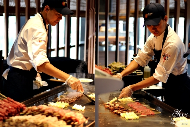 Teppanyaki Station at Nobu Hotel Brunch Buffet City of Dreams Manila