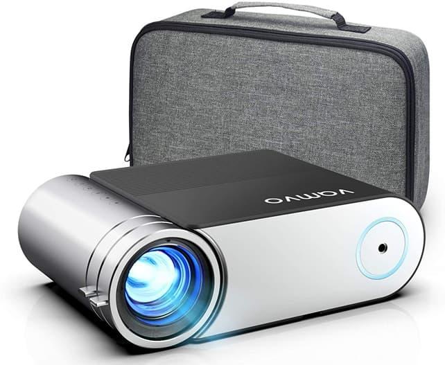 Vamvo L4200: proyector Full HD de 5.500 lúmenes con sonido estéreo y bolsa de transporte