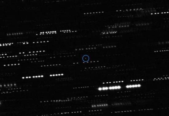 Foto real de Oumuamua