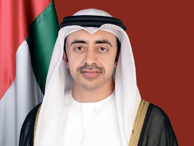 Abdullah bin Zayed receives UN Special Envoy on Libya