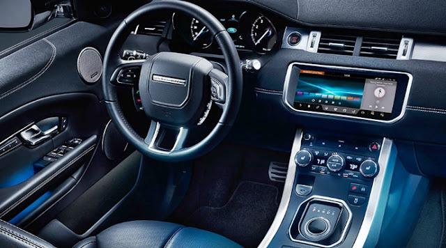 2018  Range Rover Evoque Interior