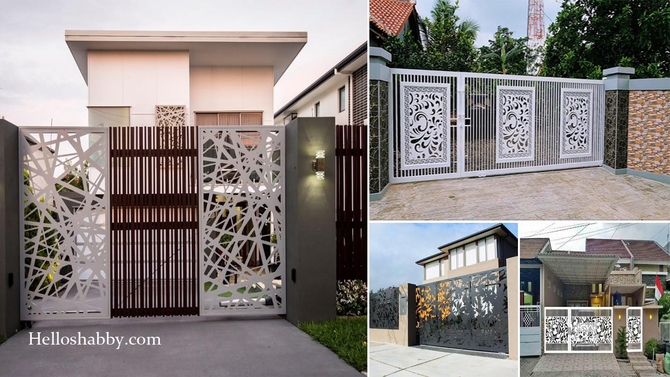 Inspirasi Pagar Rumah Minimalis Model Laser Cutting Yang Trendy Dan Populer 2021 Helloshabby Com Interior And Exterior Solutions