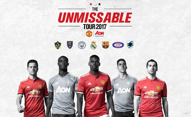 jadwal manchester united tour 2017