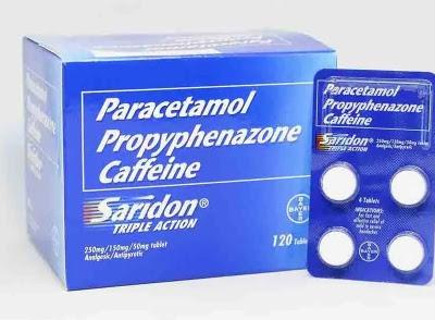Saridon, Cepat Atasi Sakit Kepala dengan Kombinasi Parasetamol dan Kafein