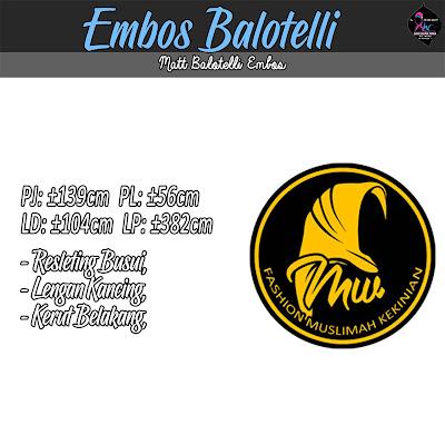 Gamis embos cantik model umbrella terbaru 2017 bahan balotelli