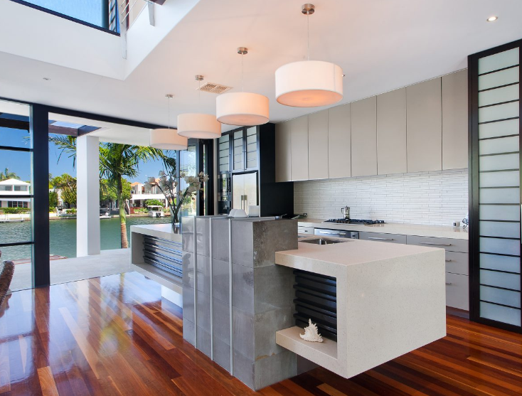 Modern Style House Design Ideas & Pictures: Amazing Kitchens With ...