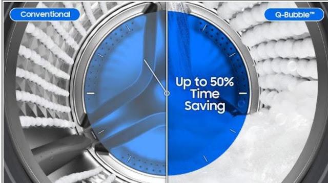 Tip-Tip Hebat : Cara Memastikan Cucian Anda Lebih Mesra Alam, Samsung Electronics, teknologi EcoBubble™ Samsung, QuickDrive unik Samsung, Samsung
