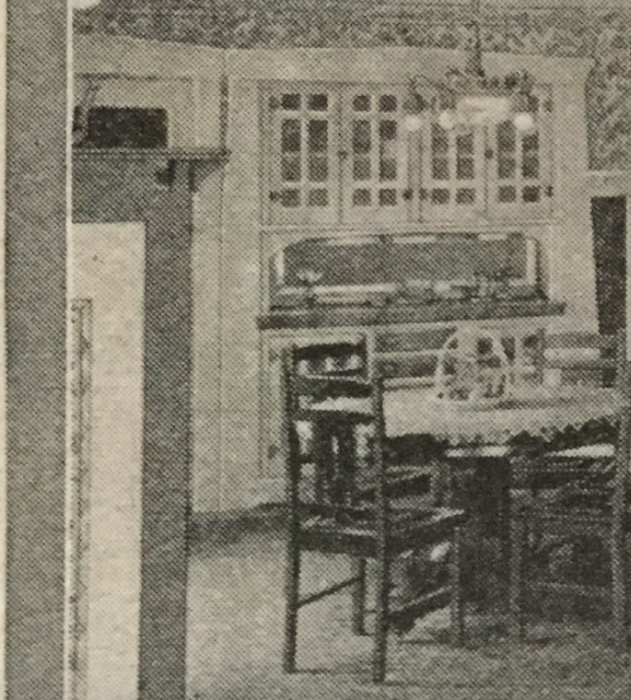 dining room hutch in 1924 Sears catalog Sears Ashmore model in Cleveland Heights 3064 Corydon Rd James J Humpal testimonial