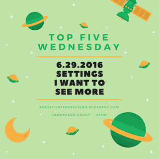click here for more top five wednesday posts
