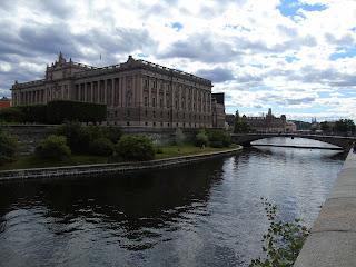 parlamento de suecia