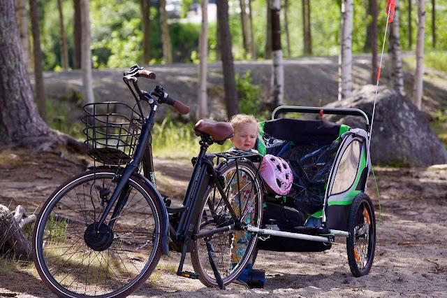Velmia-Fahrrad-Anhängerkupplung