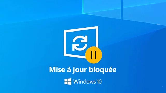 Comment réparer la mise à jour bloquée sur Windows 10?