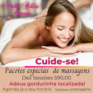 Pacote de massagens em Itapema