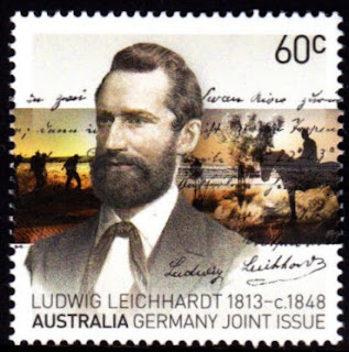 Australia 2013 Joint Issue With Germany Ludwig Leichhardt