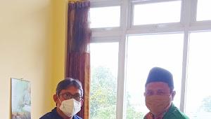 Kepala Puskesmas Rudi Hartono Menggandeng Ketua Terpilih GP Ansor Kec. Galis